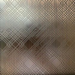 Copper Plate Etching Decoration Stainless Steel Sheets