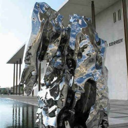 Outdoor Art Metal Stainless Steel Sculpture