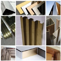 Stainless Steel Trim Edge Profile