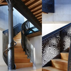 Stainless Steel Perforated Metal Balustrade Fabrication