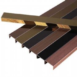 Decorative Stainless Steel Trim Edge Profile