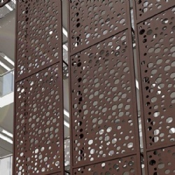 Aluminum Metal Screen Decorative Pattern Panels