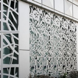 Decorative Metal Screen Panel Perforated Laser Cut
