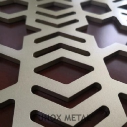 Decorative Perforated Metal Screen Panels
