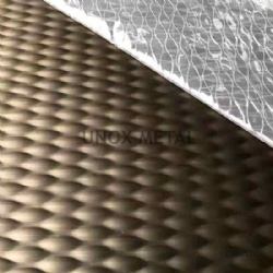 5WL Stainless Steel Embossed Sheet