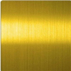 Ti Gold Grinding Hairline HL Stainless Steel Sheet