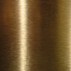 Ti Gold Grinding Brush Stainless Steel Sheet